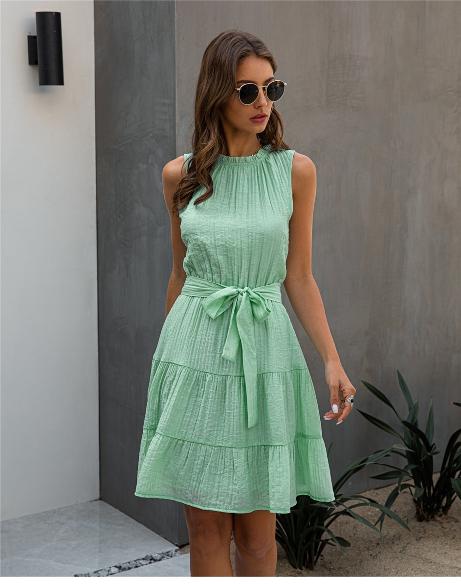 Daytime Dreamer Casual Sleeveless Dress